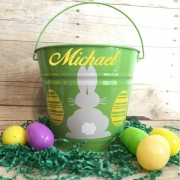 Green Easter Bucket
