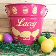 Pink Easter Bucket